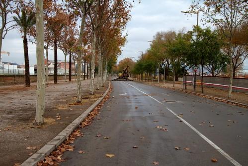 Corte en Ronda Sant Martí con Pont del Treball 04- 09-12-10