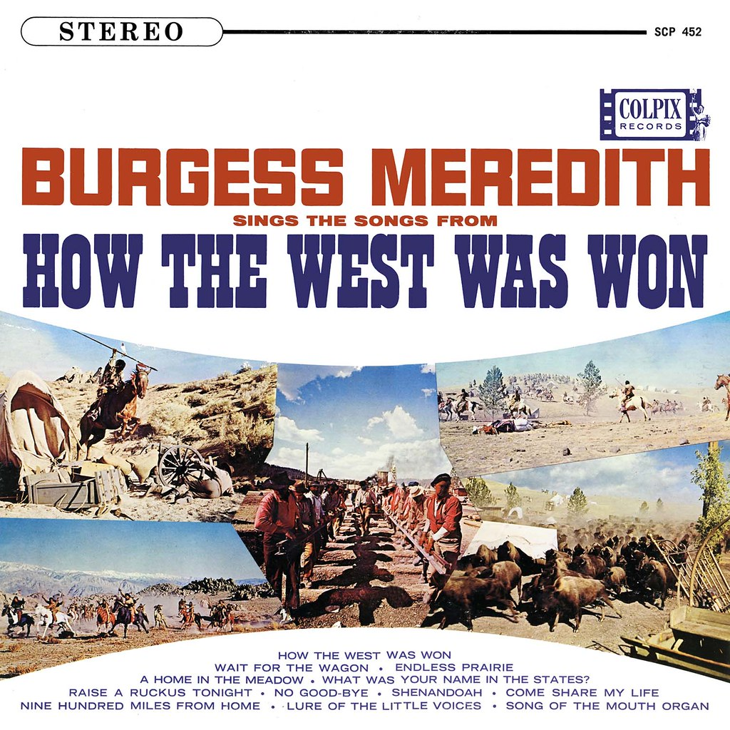 Burgess Meredith Sings Songs From How the West Was Won