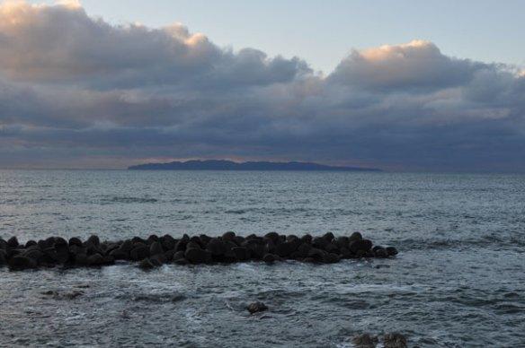 初冬の日本海~笹川流れ