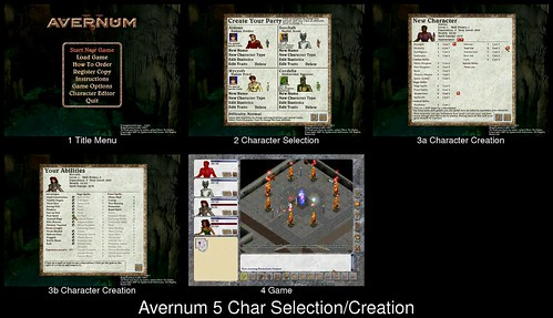 Character Creation in Avernum 5