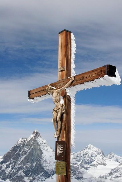Crucifix on the Klein Matterhorn