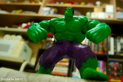 DAY 20 - HULK SMASH!!! by israelv