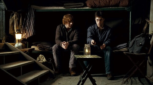 Rupert Grint and Daniel Radcliffe, Harry Potter and the Deathly Hallows, Part 1 - © Warner Brothers Entertainment Inc.