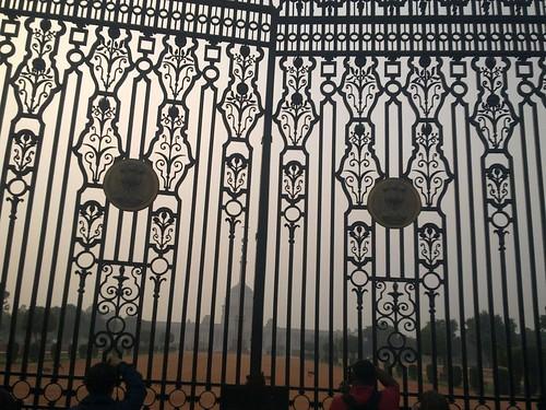 Rashtrapati Bhavan... Doors closed