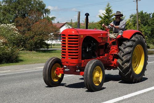 Massey Harris 55 Tractor.