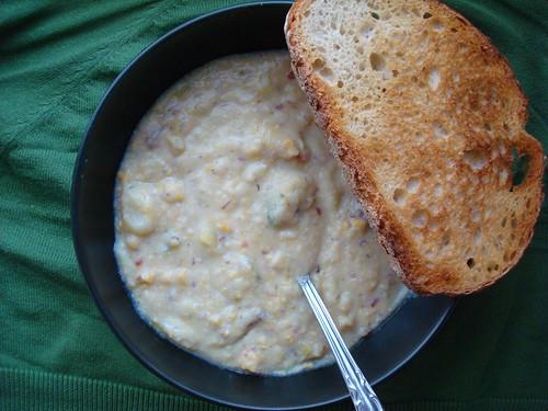 Creamy Vegan Potato Corn Chowder