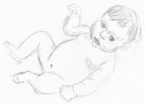 First baby sketch on 2011-01-12