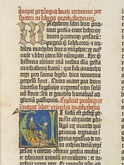 Gutenberg Bible - detail from the Old Testament