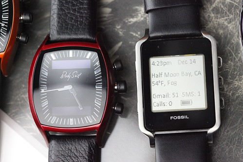 Fossil's concept watches