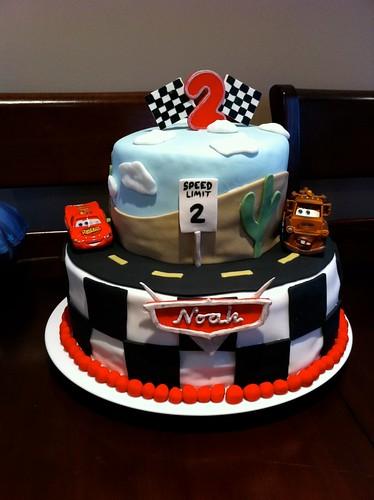 Cars Cake (1/5)