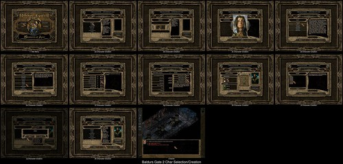 Character Creation in Baldurs Gate 2