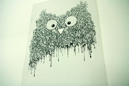Owl Painting!