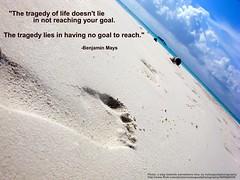 A step towards a goal