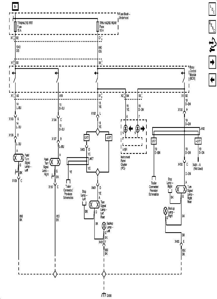 Electrical Schematics: '09-'10 (Headlamps, Parking, Turn