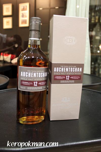 Auchentoshan Single Malt Scotch Whisky, 12 year old