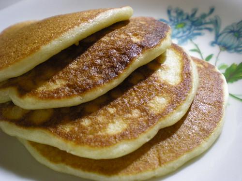 Melissa's banana pancakes 1