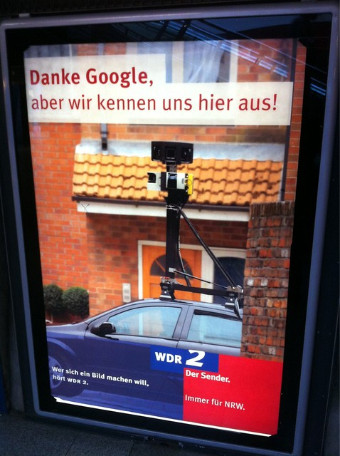 """""""Danke Google, aber wir kennen uns hier aus."""" Wrong on so many levels. #wdr2"""