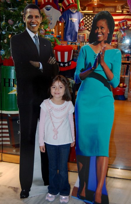 Photo op with the Obamas! ;)