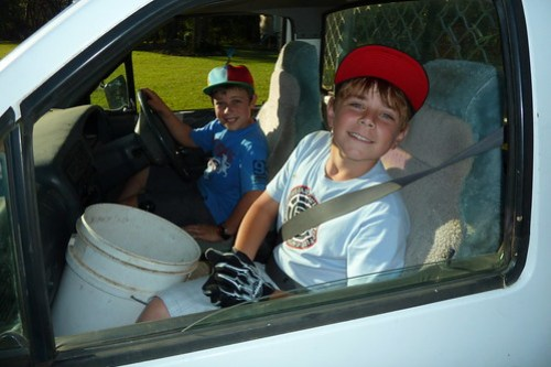 Jacob and Alek in the Ute