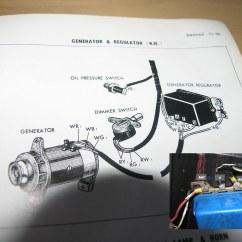 1970 Toyota Land Cruiser Wiring Diagram For Small Utility Trailer Generator Voltage Regulator Question ; Amp Gauge | Ih8mud Forum