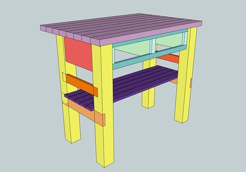 My Kitchen Island Plans