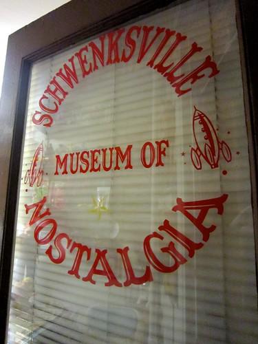 Enter the Schwenksville Museum of Nostalgia