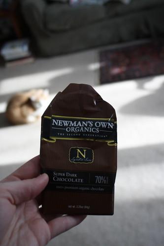 Newmans' Own Organics Super Dark Chocolate