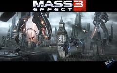 Mass Effect 3 Wallpaper - Top Logo Variant
