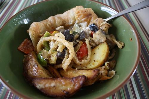 Roasted Vegetable Crustada Cafe Manna