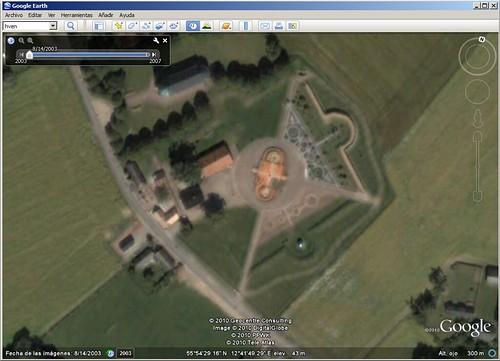 Google-Earth-Hven-Uraniborg