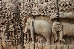 Mahabalipuram - Arjuna's penance