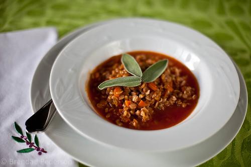 Tuscan Farro Soup (Zuppa di Farro)