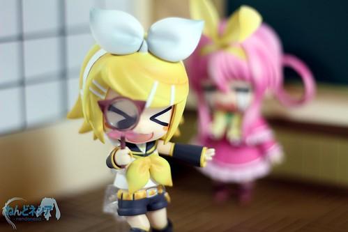 Rin took away Sharo's magnifier