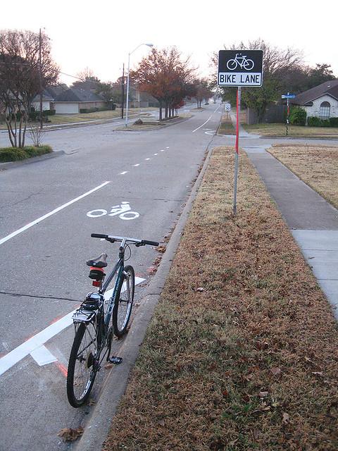 Bike Lane - Yale North