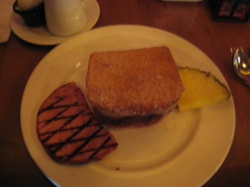 Tonga Toast @ Kona Cafe, Polynesian
