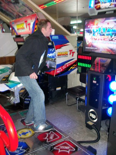The most difficult DDR game in existence