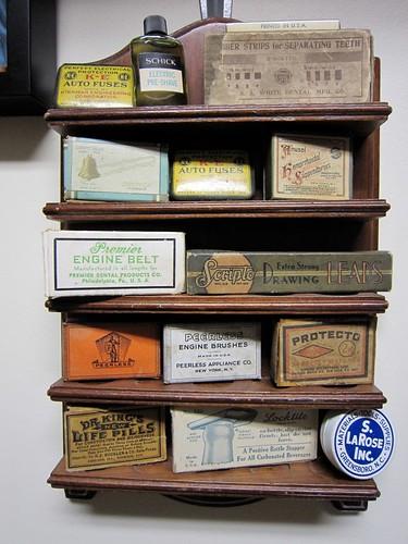 Vintage Barber Shop Memorabilia