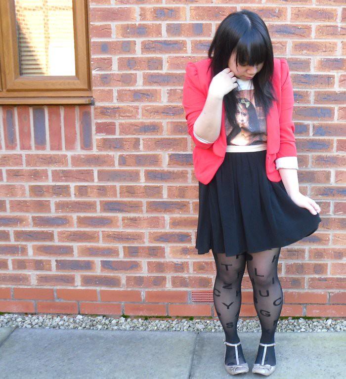 Mona lisa Red Jacket