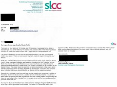 SLCC Master Policy Monitor request 19 11 2010