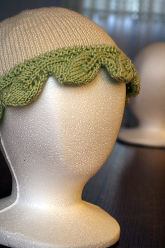Hat 5 - Leaf hat