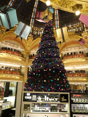 Christmas in Gallerie Lafayette