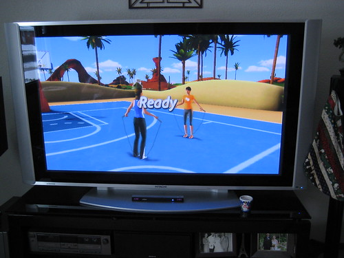 """skipping"" or jumping rope in EA Sports Active 2"