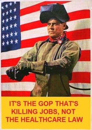 GOP's Repeal is the Job Killer