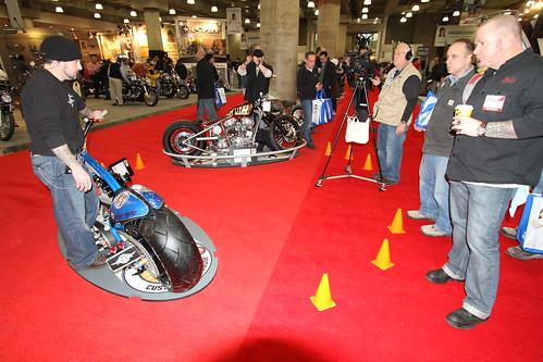 Video @ Ultimate Buider Custom Bike Show