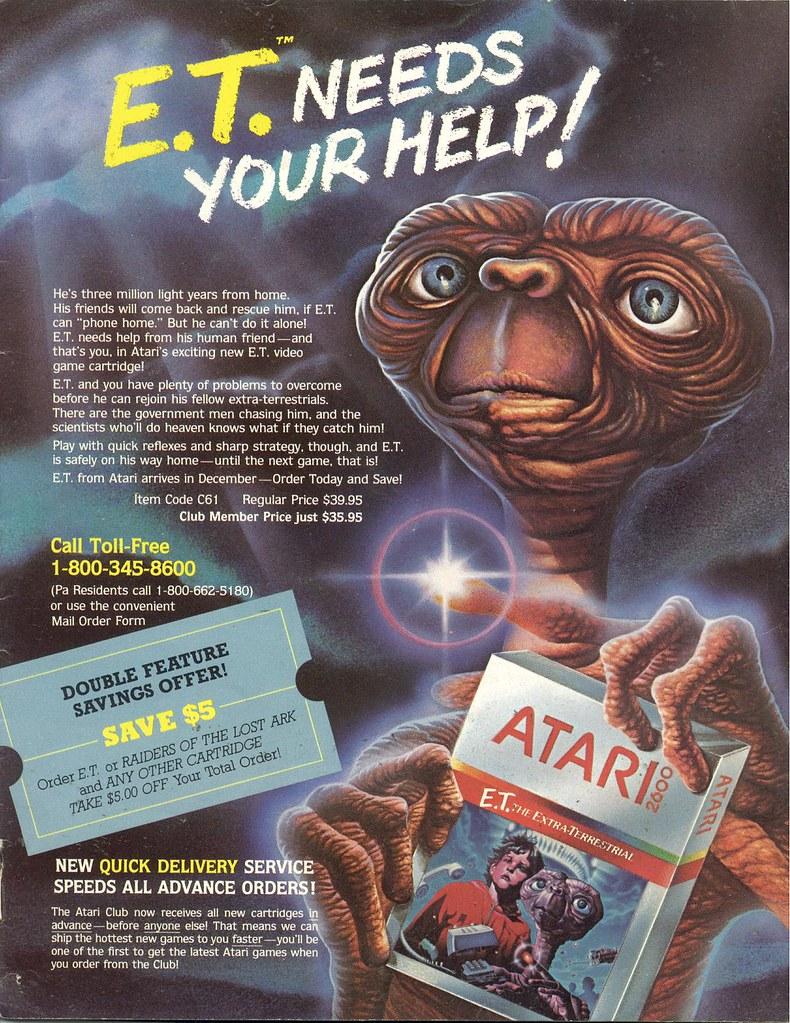 Atari 2600 ET