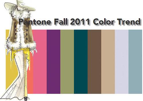 Pantone Fall 2011 Color Trend