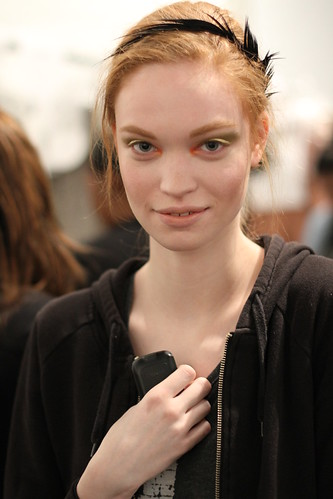 Yigal Azrouel Fall 2011- Backstage (7)