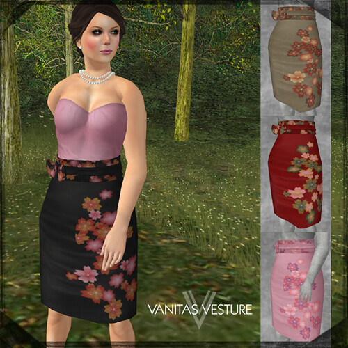 Vanitas Vesture - Meticulous Pencil Skirt - PCF Special Editions