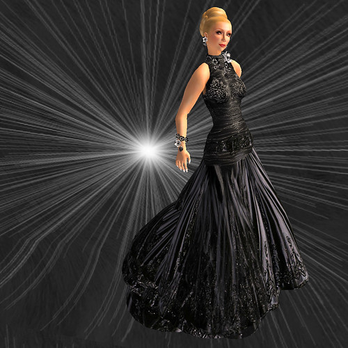 Fashion for Life - SAS Arrogance Gown, Long Variation
