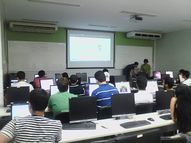 Curso de Pygame no II Workshop do Centro de Informática